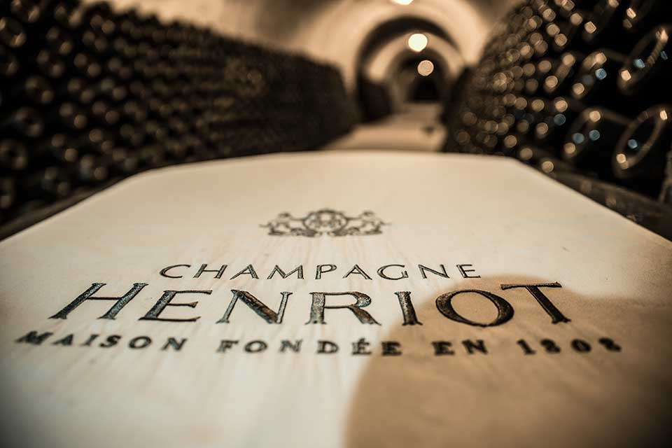 Henriot champagne cellars