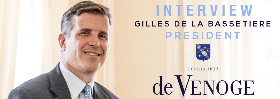 Interview Gilles de la Bassetire de Venoge