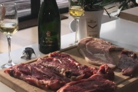 Champagne and food pairing