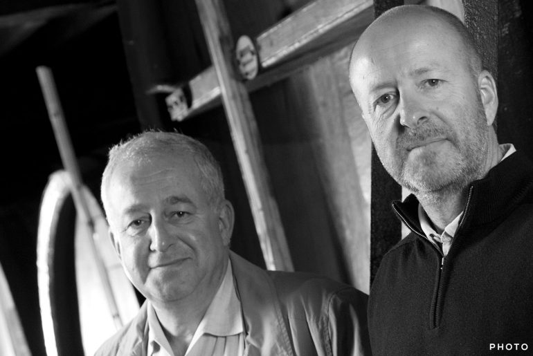 Jean-Herve and Laurent Laurent Chiquet of JACQUESSON champagne