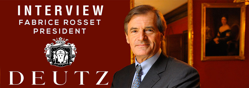Fabrice Rosset Deutz Champagne interview