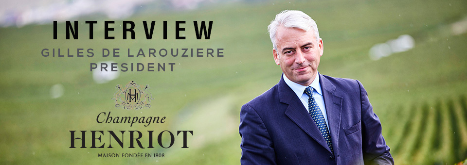 HENRIOT GILLES DE LAROUZIERE INTERVIEW