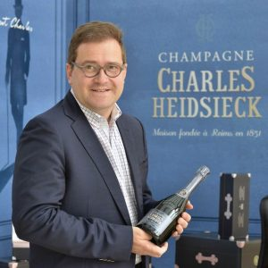 Cyril Brun Chef de Cave Charles Heidsieck