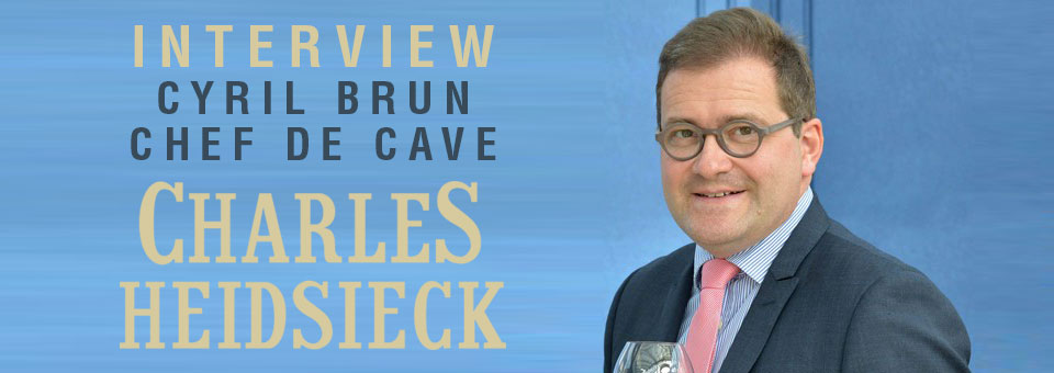 Interview with Cyril Brun Charles Heidsieck