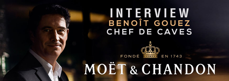 Benoit Gouez Chef de Caves of Moët & Chandon