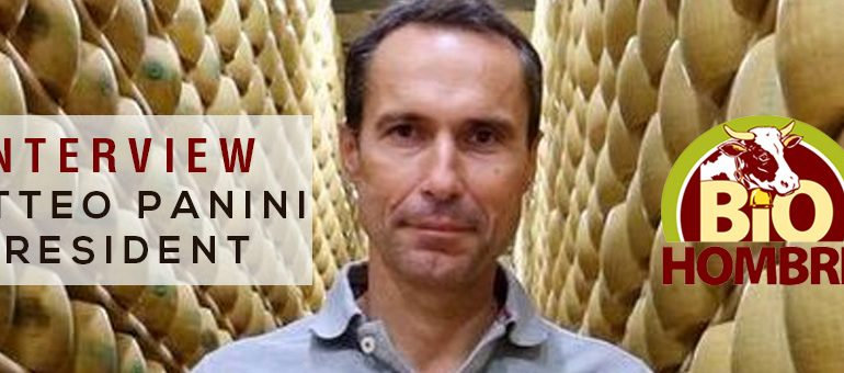 INTERVIEW WITH MATTEO PANINI PRESIDENT OF PARMESAN HOMBRE