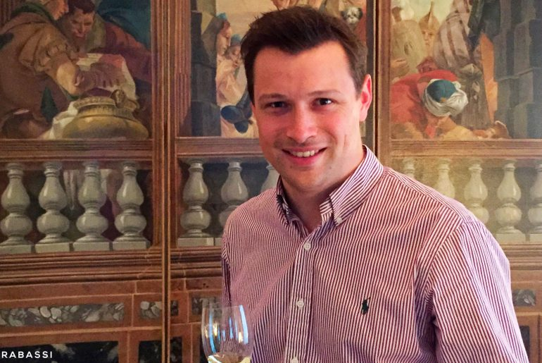 Guillaume Lete Chef de Cave of Barons de Rothschild