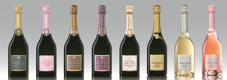 DEUTZ Champagne cuvees 2018