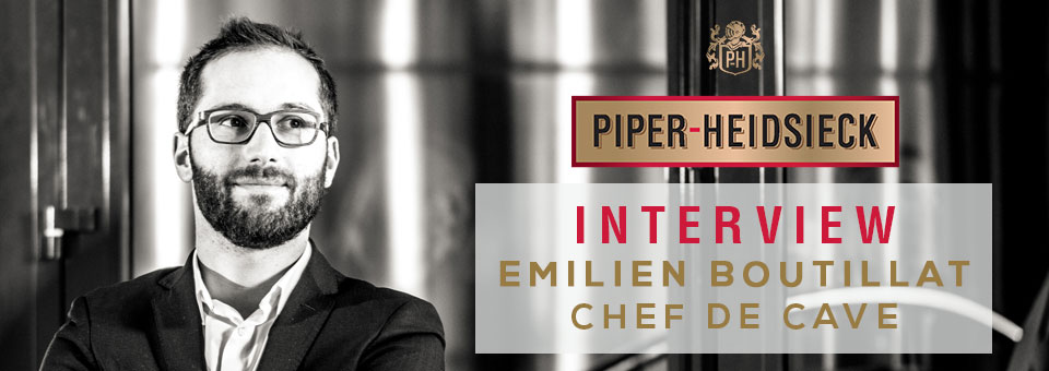 Interview with Emilien Boutillat Chef de Cave of PIPER-HEIDSIECK