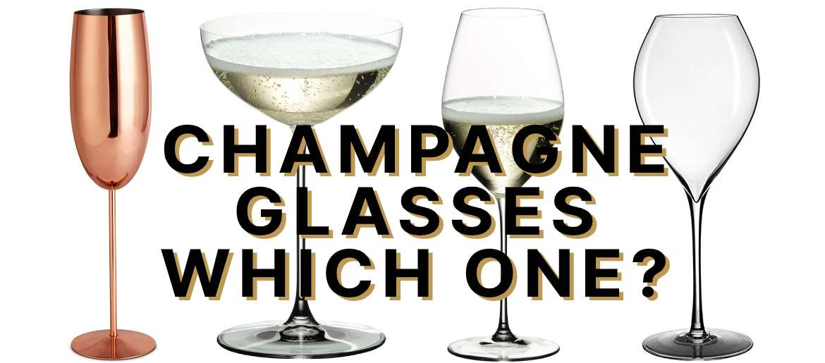 Champagne Glasses: the Good, the Bad and the Ugly