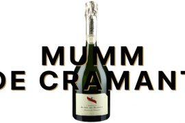 Mumm de Cramant champagne