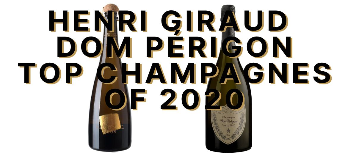 Henri Giraud and Dom Pérignon Named Best Champagnes of 2020 by James Suckling