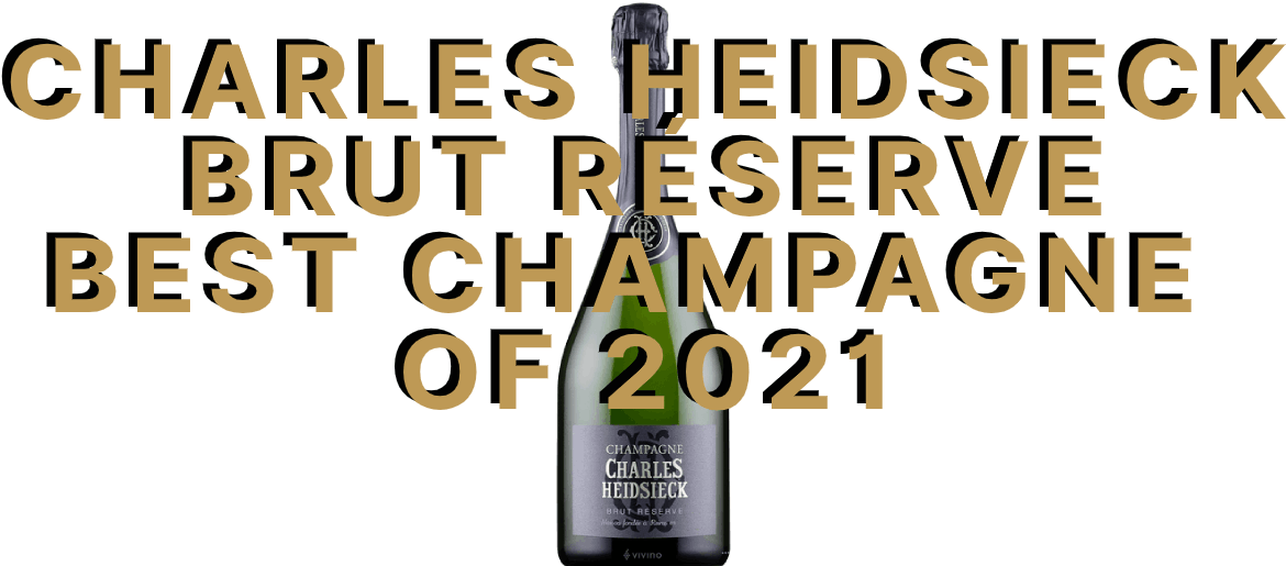 Charles Heidsieck Brut Réserve Champagne of The Year 2021 by The Whiskey Exchange